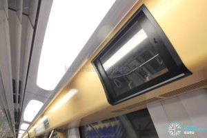 Alstom Metropolis C751A - LCD Screen (disused)