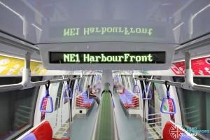 Alstom Metropolis C751C - LED text display