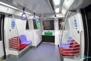 Alstom Metropolis C751C - Car end