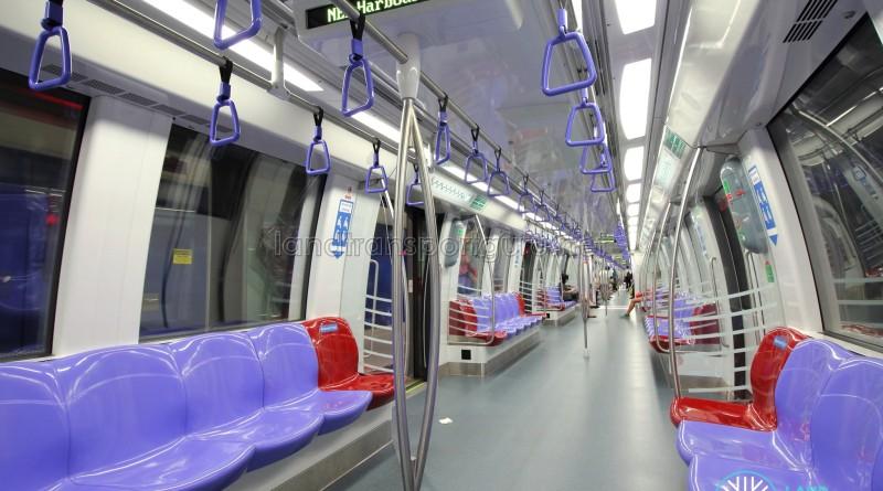 Alstom Metropolis C751C - Interior