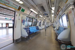 Kawasaki Heavy Industries C151 - Blue car interior