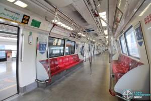 Kawasaki Heavy Industries C151 - Red car interior
