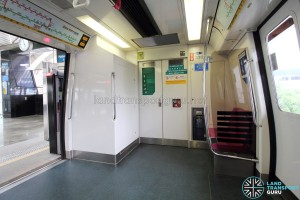 Kawasaki-Nippon Sharyo C751B - Emergency exit and Signalling housing box