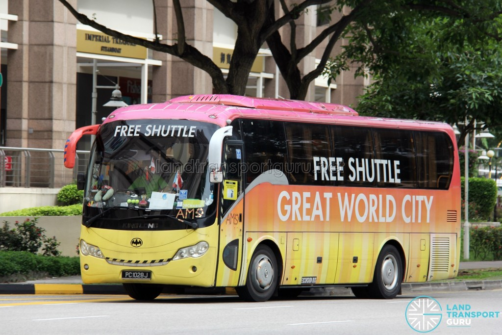 PC1028J - Great World City Shuttle - Orchard Route