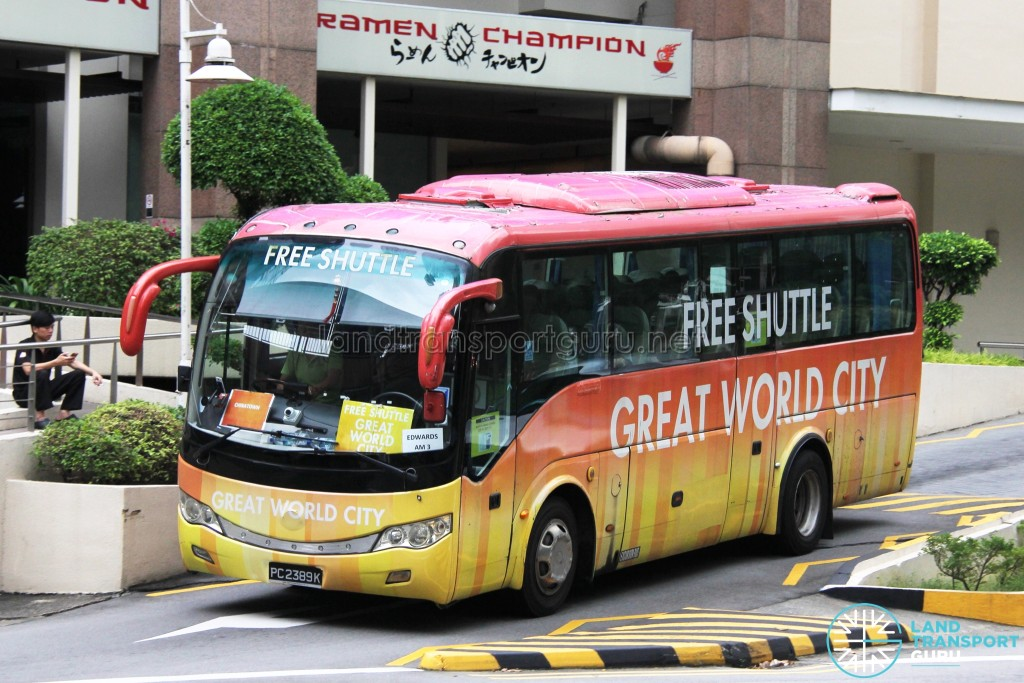 PC2389K - Great World City Shuttle - Chinatown Route
