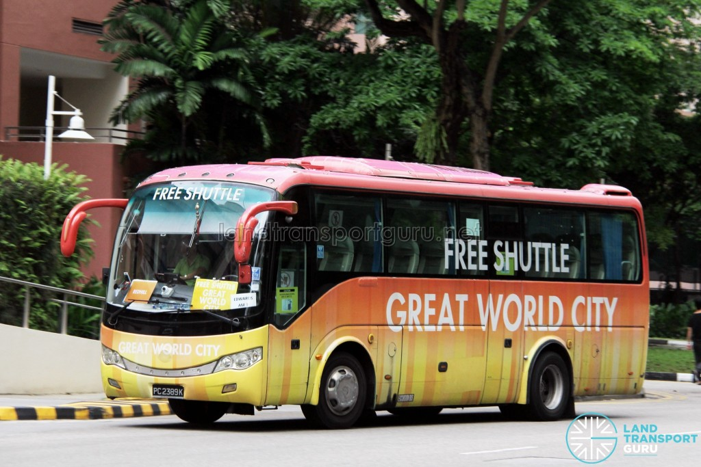 PC2389K - Great World City Shuttle - Redhill Route
