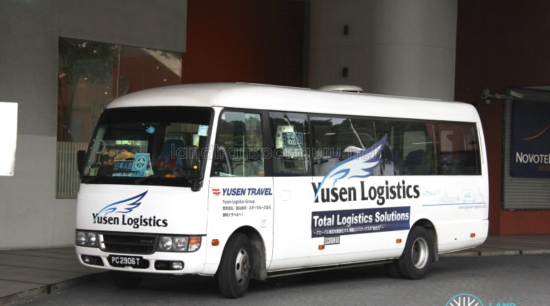 PC2906T - 772 - Japanese Association-Liang Court Shuttle