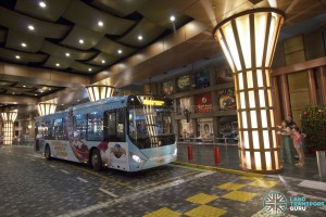 Resorts World Sentosa - RWS8 Bus Berth