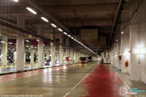 Resorts World Sentosa Bus Terminal - Parking area after regular service hours