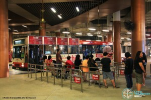 Resorts World Sentosa Bus Terminal - Public bus boarding berth