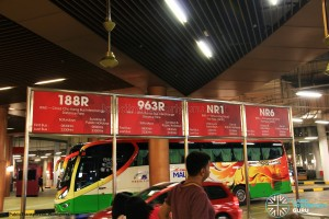 Resorts World Sentosa Bus Terminal - Public bus information