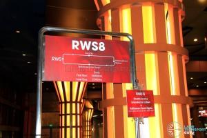 Resorts World Sentosa Bus Terminal - RWS8 boarding berth