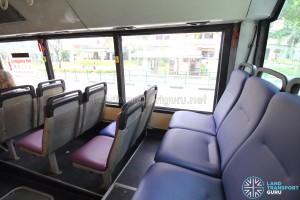 Rear cabin - Last row of seats