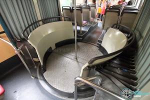 Articulation unit turntable platform