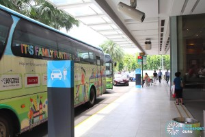 Sembawang Shopping Centre Shuttle - Boarding and Alighting point