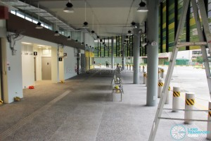 Shenton Way Bus Terminal (unopened) - Passenger Concourse