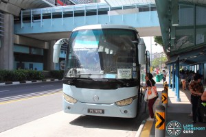 The Grandstand Shuttle - Clementi Pickup Point
