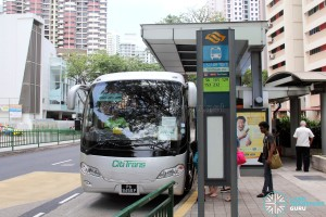 The Grandstand Shuttle - Toa Payoh Pickup Point