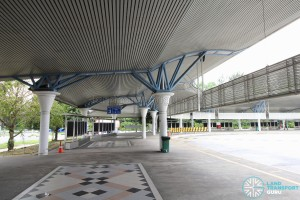 Tuas Bus Terminal - Concourse near Alighting Berth 2