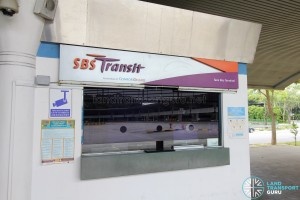 Tuas Bus Terminal - SBS Transit office
