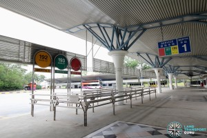 Tuas Bus Interchange - Boarding Berth 1