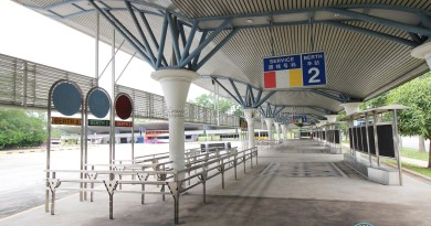 Tuas Bus Terminal - Boarding Berth 2 (unused)