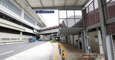 Tuas West Road MRT Station - Exit A & Bus Stop along Pioneer Road (Eastbound)