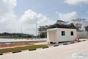 Ulu Pandan Bus Depot - Bus Park (Guardhouse)
