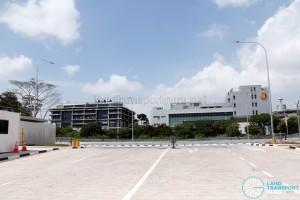Ulu Pandan Bus Depot - Bus Park (Ingress and Egress)