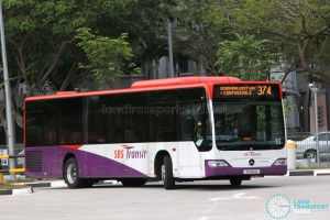 SBS Transit Mercedes-Benz Citaro (SG1116G) - Service 374