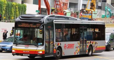 SMRT MAN A22 (SMB1618Y) - Service 171