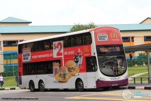 SBS Transit Volvo B9TL Wright (SBS3066S) - Service 58