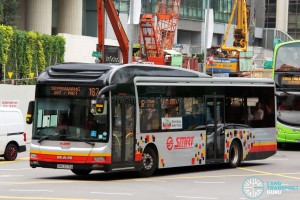 SMRT MAN A22 (SMB3075A) - Service 167