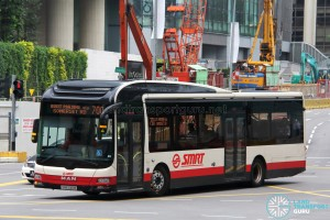 SMRT MAN A22 (SMB346M) - Service 700