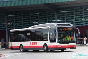 SMRT MAN NL323F (SMB349E) - On Driving Test