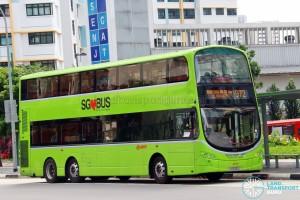 SMRT Volvo B9TL Wright (SG5429C) - Service 972