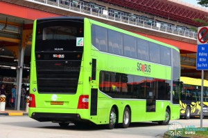MAN Lion's City DD L (SG5999Z) - Training Bus - Rear