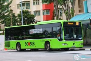 Go-Ahead Mercedes-Benz Citaro (SBS6561J) - Service 381