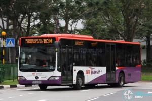 SBS Transit Mercedes-Benz Citaro (SBS6595L) - Service 163M
