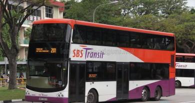 SBS Transit Volvo B9TL (CDGE) (SBS7387P) - Service 201