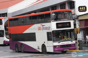 SBS Transit Volvo Olympian 3-Axles (SBS9664B) - Service 14