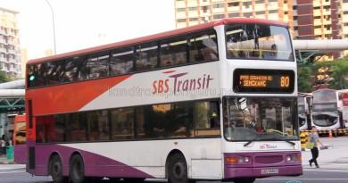 SBS Transit Dennis Trident (SBS9688H) - Service 80