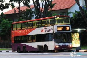 SBST Volvo B10TL (SBS9844Z) - Service 55