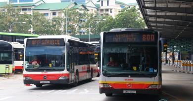 SMRT Mercedes-Benz Citaro (Bus Stock Photo)