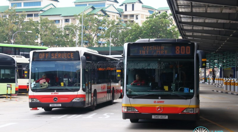 SMRT Mercedes-Benz Citaro (Bus Stock Photo)