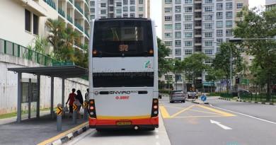 SMRT ADL Enviro500 (Bus Stock Photo)