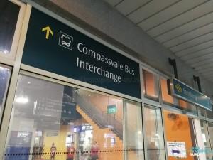 Compassvale Bus Interchange - Signs in Sengkang Bus Interchange