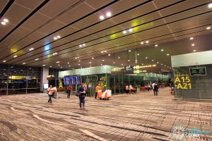 Changi Airport Skytrain - Transit Area - Station A (Terminal 3)