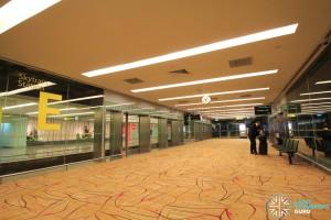 Changi Airport Skytrain - Transit Area - Station E (Terminal 2)