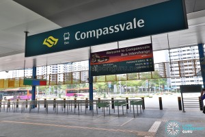 Compassvale Bus Interchange - Main Entrance